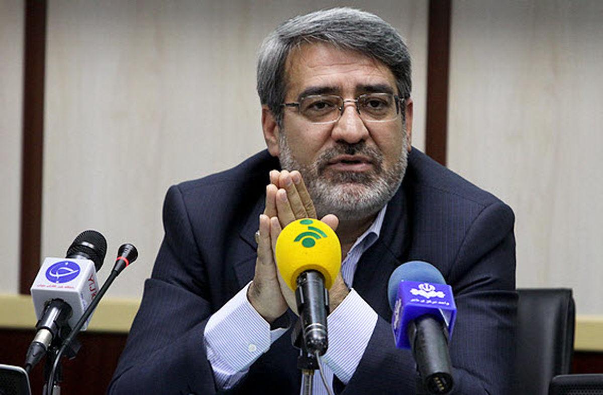 واکنش وزیر کشور به کاهش تعداد اعضای شورای شهر تهران