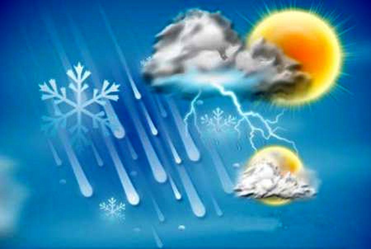 دمای هوای مازندران تا15 درجه کاهش مییابد