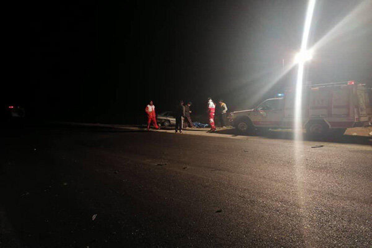 تصادف جادهای یک کشته و ۴زخمی برجای گذاشت