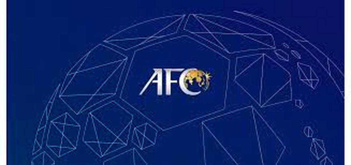 ایران در نقشه کنفدراسیون فوتبال آسیا کجاست؟
