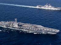خروج ناو یو اس اس باتان آمریکا از خلیج فارس
