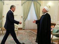 دیدار وزیر امور خارجه تاجیکستان با رییس جمهور +عکس