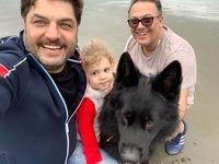 فرار سام درخشانی و خانوادهاش از تهران +عکس