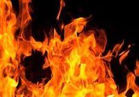آتش گرفتن قطار حامل اتانول در آمریکا +فیلم