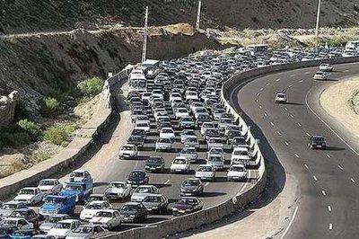 افزایش حجم ترافیک جادههای کشور