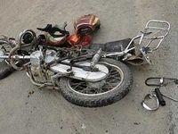 1کشته در تصادف پژو با موتورسیکلت
