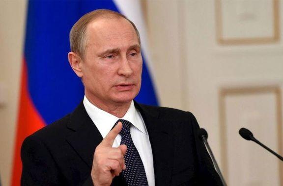 واکنش پوتین به حمله نظامی به سوریه