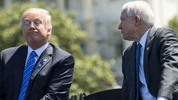 ترامپ رئیس دفتر وزیر دادگستری را جایگزین سشنز کرد