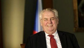 شوخی دردسرساز رئیسجمهور چک با خبرنگاران