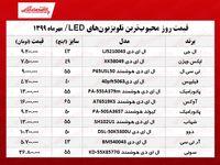 محبوبترین تلویزیونهای LED چند؟ +جدول