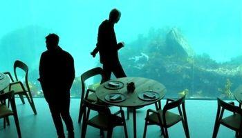 رستوران ۳طبقه زیر آبهای نروژ +تصاویر