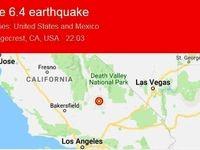 زلزله مهیب در کالیفرنیا