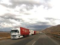 سرگردانی ارزی 12هزار کامیون در لب مرز