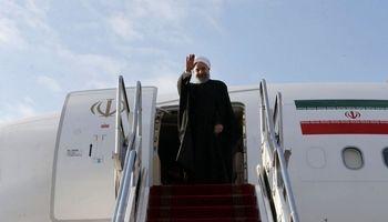 روحانی به تهران بازگشت