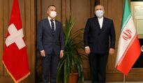 توئیت وزیر خارجه سوئیس پس از دیدار با ظریف