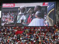 تحلیف رییسجمهور کنیا در میان اعتراضات مردم +عکس
