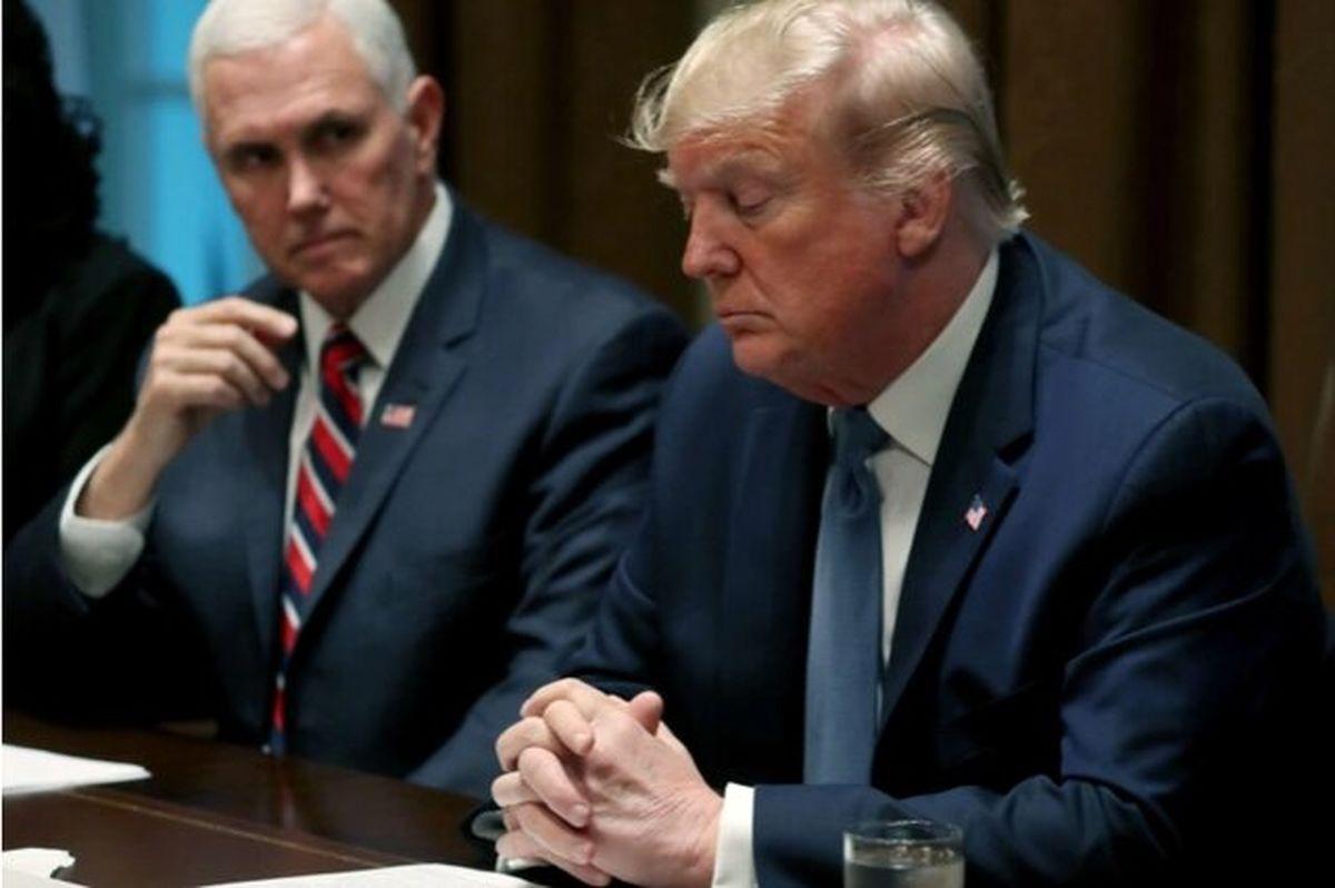 ترامپ از معاونش عصبانی است