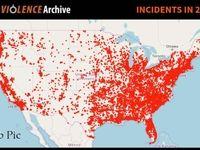 مرگ ٤٨٨نفر بر اثر تیراندازی با سلاح گرم در آمریکا
