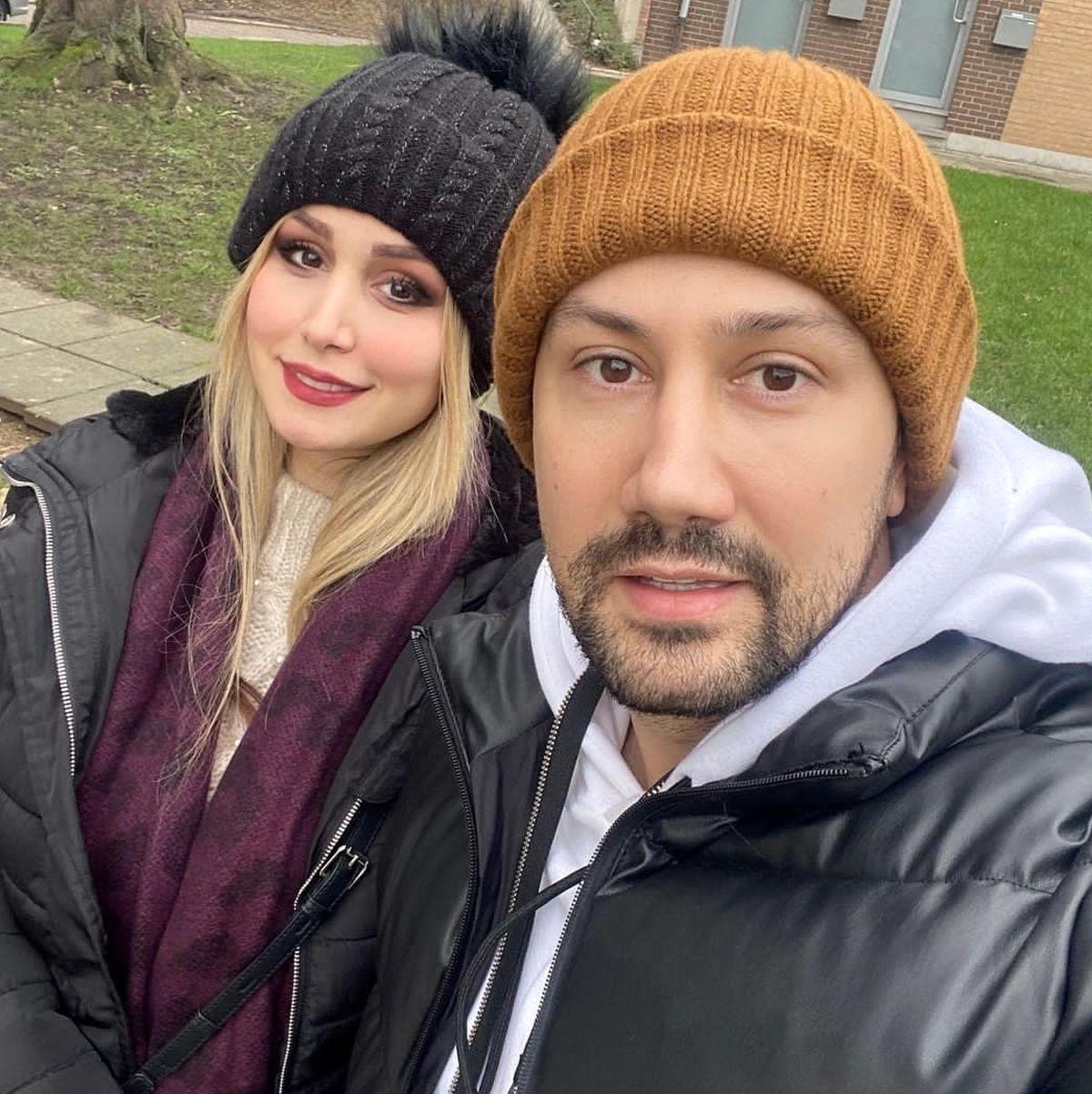 سلفی شاهرخ استخری با دخترش + عکس