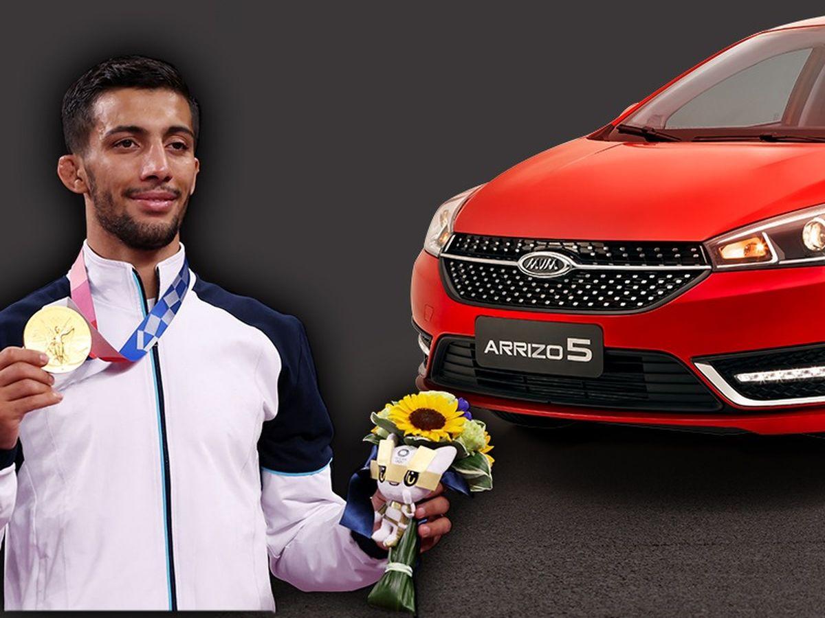 سفیر محصول خودرو آریزو 5 جدید مدیران خودرو معرفی شد