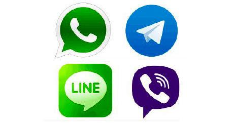 علاقه کاربران آسیایی به اپ های پیام رسان