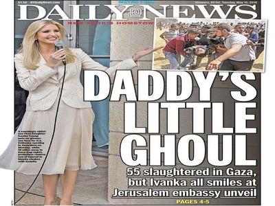 لقبی که روزنامه آمریکایی به ایوانکا ترامپ داد +عکس