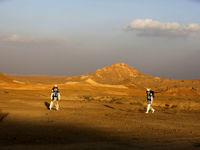 آغاز تمرین داوطلبان سفر به مریخ +تصاویر