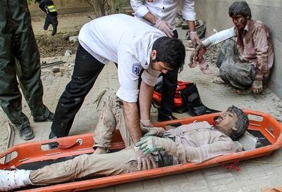 ریزش مرگبار ساختمان در مشهد (تصاویر 16+)