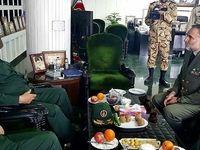 دیدار معنادار دو فرمانده سپاه و ارتش