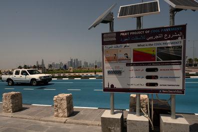 پروژه آسفالت سرد در قطر