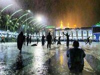 آخرین وضعیت جوی شهرهای زیارتی عراق