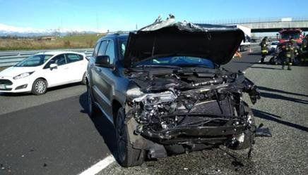 (تصویر) تصادف شدید ستاره یوونتوس در تورین