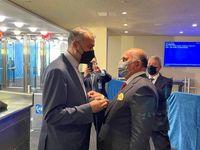 رایزنی خصوصی وزرای خارجه ایران و عراق در حاشیه مجمع سازمان ملل +عکس