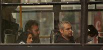 نمایی از اجباری شدن استفاده از ماسک در اتوبوس