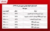 قیمت انواع چری در تهران +جدول
