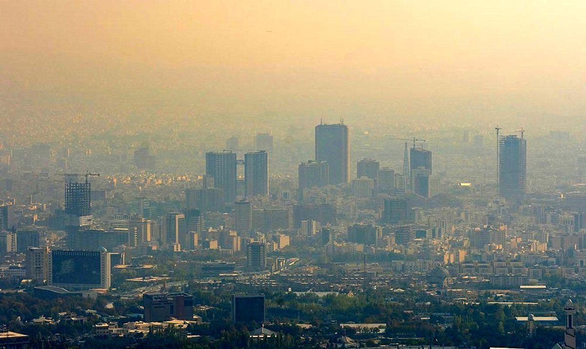 آغاز هفته آلوده تهران