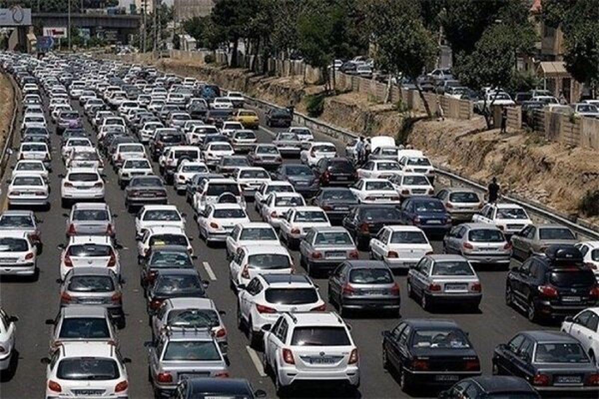 تردد در بیشتر محورهای مواصلاتی کشور روان است