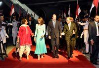 تصاویری از حضور پرنس ویلیام و کیت میدلتون در پاکستان +فیلم