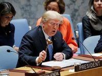 ترامپ: شورای امنیت با آمریکا علیه ایران همکاری کند/ شدیدترین تحریمها را علیه ایران اعمال میکنیم