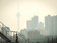 هوای تهران برای سومین روز متوالی ناسالم