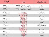 نرخ انواع سشوار در بازار تهران چند؟ +جدول