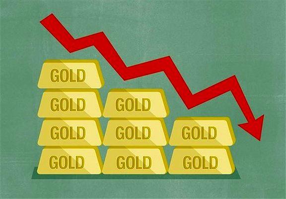اونس جهانی طلا از صعود افتاد