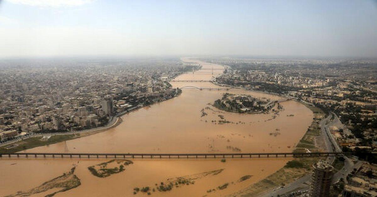 آخرین اخبار از سیل خوزستان/ تخلیه اهواز صحت ندارد