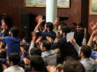 حال و هوای دانشگاه تهران در روز دانشجو