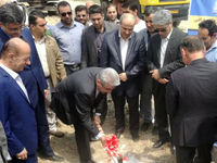 طرح زهکشی اراضی گلستان با حضور وزیر نیرو آغاز شد