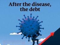 طرح جلد اکونومیست: بعد از بیماری؛ بدهی