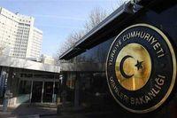 وزارت خارجه ترکیه ترور شهید فخری زاده را محکوم کرد