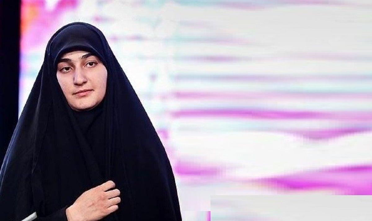 واکنش دختر شهید سلیمانی به شکست ترامپ +عکس