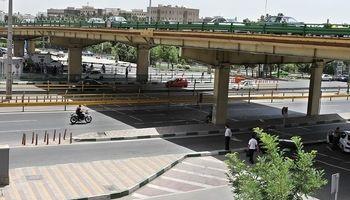 وضعیت ترافیک مسیرهای اطراف پل گیشا