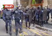 تظاهرات گسترده در فرانسه در اعتراض به سیاستهای ماکرون +فیلم